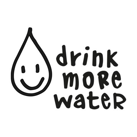 drink more water logo wasserspender ProGenius